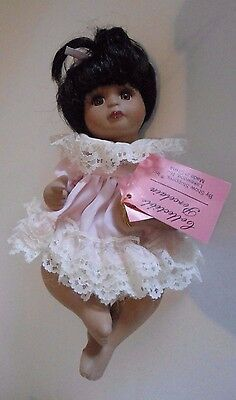 Show Stoppers Collection JUDY Porcelain Baby Doll With Hang Tags 8""