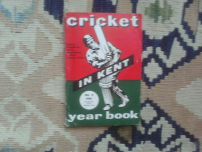 Cricket in Kent  No 8 1961 Year Book