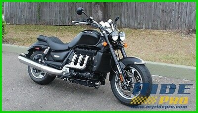 Triumph Rocket III Roadster 2014 Triumph Rocket III Roadster 3CYL CHEAP TOURING MOTORCYCLE LOW MILES RESERVE