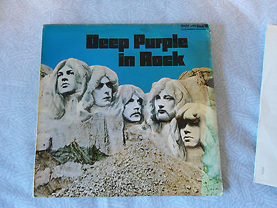 Deep Purple, In Rock  LP