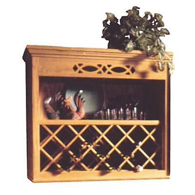 Omega Npwrl 2443 Hi 24 In. X 43 In. Wood Wine Rack Lattice Hickory