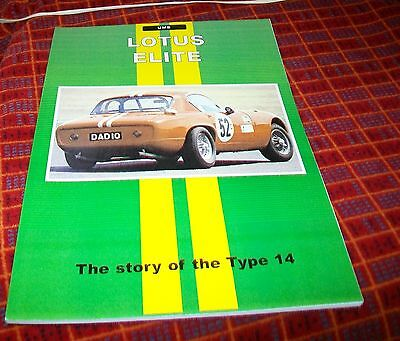 Lotus Elite Type 14 Road Test Reprint Book