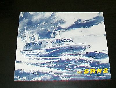 Westland Cowes Isle Of Wight  Srn2 Hovercraft Brochure Sp.461 Saunders Roe