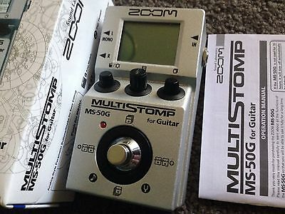 Zoom MS-50 Multi Effects Pedal