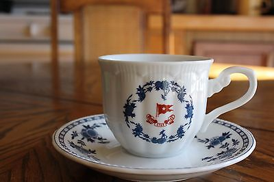 Titanic Artifact Collection Cup and Saucer