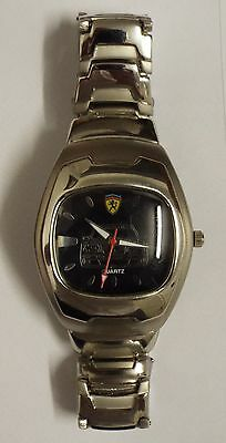 Man`s Ferrari Watch   - See Picture Used But Nice Condition
