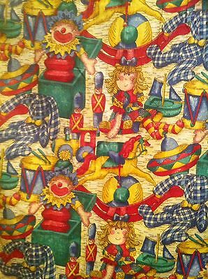 Vintage Curtains/Fabric-Childrens-Toys-VGC