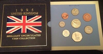 1995 Royal Mail UK Brilliant Uncirculated 8 Coin Proof Set