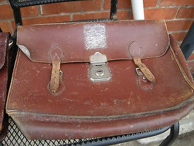 2 old briefcases