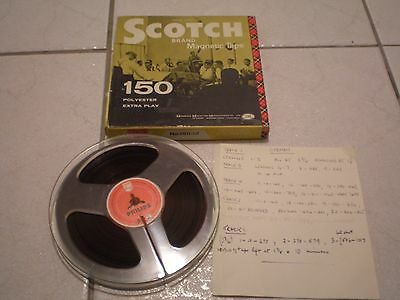 Vintage Scotch 3M Reel To Reel Tape 5&3/4 Inch