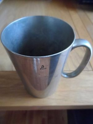 Pewter pint jug approx 1930s