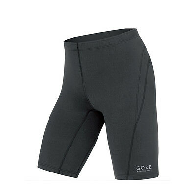 Gore Running Essential Tight Short Black Herren Laufshorts Schwarz
