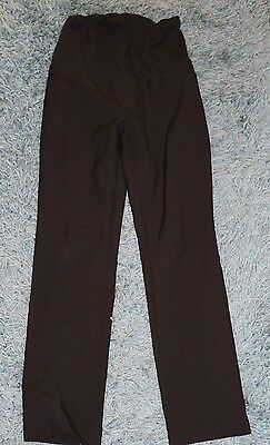 Black overbump Maternity trousers from New Look. Size 10