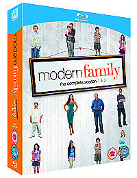 Modern Family - Series 1 and 2 - Complete (Blu-ray, 2011)