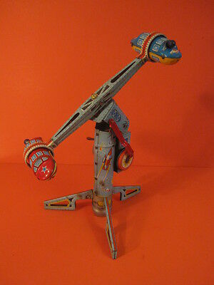Alps Twirly Whirly Rocket Ride Battery Operated 1959 Space Toy