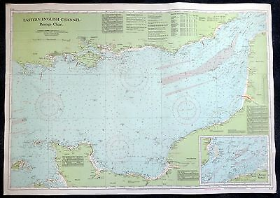 Vintage IMRAY CHART - Eastern English channel 1983
