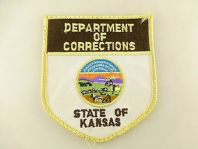 Department of Corrections State of Kansas Obsolete Embroidered Patch