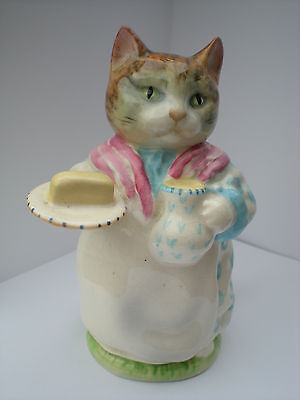 "Beswick ""RIBBY"" Beatrix Potter. GOLD OVAL"