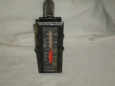 Vintage Smiths Inclinometer 1920's/30's DeHavilland civil military aircraft
