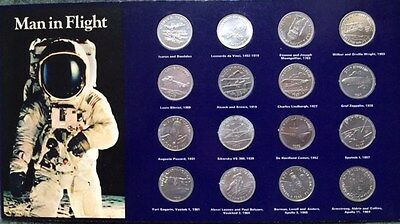 Shell petrol 'Man in Flight' coin collection