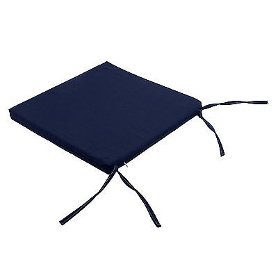 Waterproof  garden dining chair cotton cushion seat pads Removable Cover-OAX