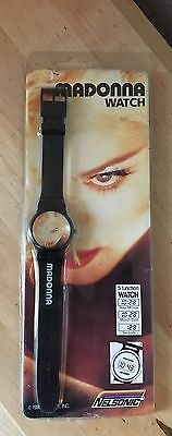 Vintage Madonna Official Boy Toy 1990 Blonde Ambition LCD Watch Nelsonic Sealed