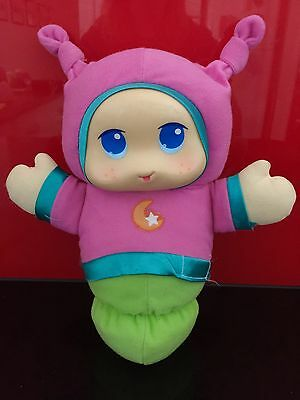 Playskool pink Lullaby Glowworm Musical Night Light Glow Worm