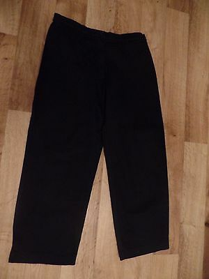 Pair of Black 1950s Style Capris/Pedal Pushers Size 12