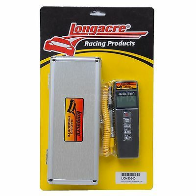 Longacre Racing 50640 AccuTech Deluxe Digital Tire Probe Pyrometer 500° °F/°C