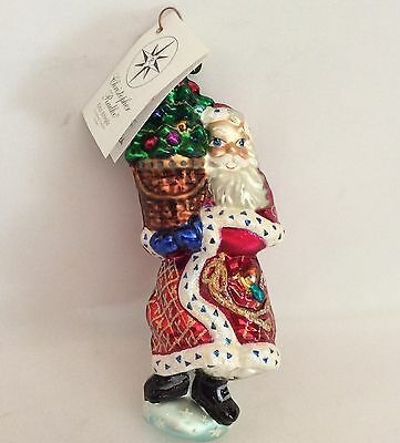 Longaberger Christopher Radko Exclusive Kriss Kringle Glass Ornament 2nd Series
