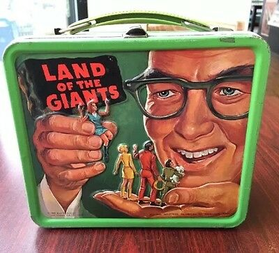 original vintage Land of the giants lunch box by Aladdin 1968
