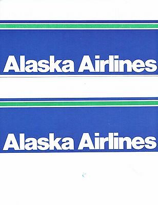 Alaska Airlines Ticket Jackets  FREE SHIPPING
