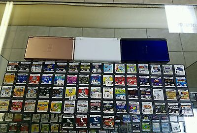 nintendo ds console lot and games lot