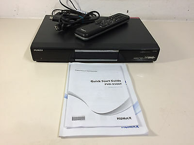 Humax PVR-9300T Twin Tuner Digital TV Recorder 500GB - NEW