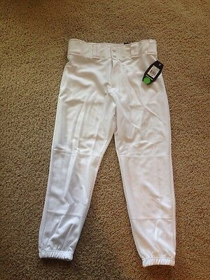 Easton Youth Baseball Pants New With Tags Size Extra Large White