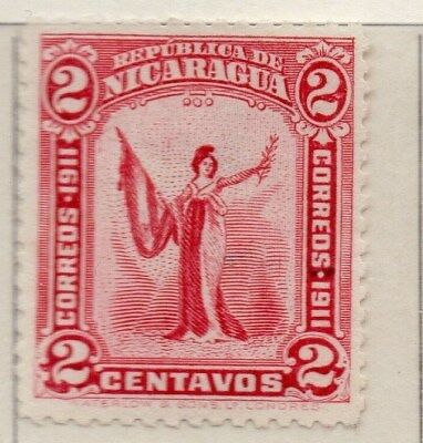 Nicaragua 1912 Early Issue Fine Mint Hinged 2c. 110959