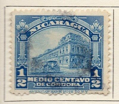 Nicaragua 1914 Early Issue Fine Used 1/2c. 110993