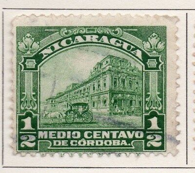 Nicaragua 1922-23 Early Issue Fine Used 1/2c. 111027
