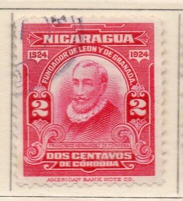 Nicaragua 1924 Early Issue Fine Used 2c. 111042