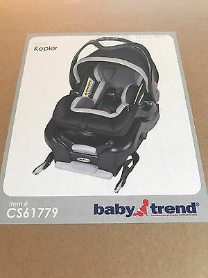 *NEW!* Baby Trend Snap Gear Infant Car Seat-KEPLER- Birth To 32 Lbs. Rear Facing