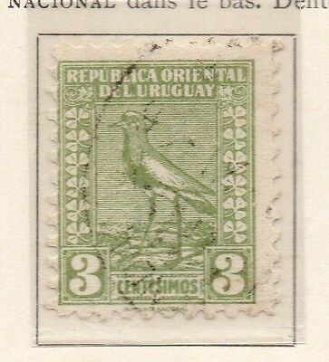 Uruguay 1925-26 Early Issue Fine Used 3c. 111108