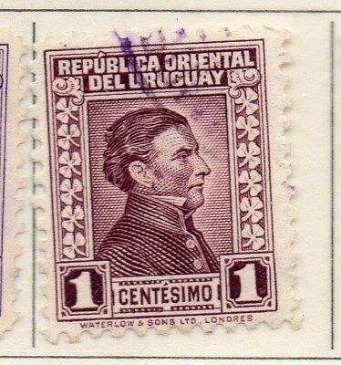 Uruguay 1928 Early Issue Fine Used 1c. 111126