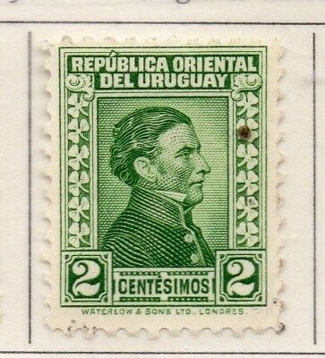 Uruguay 1928 Early Issue Fine Mint Hinged 2c. 111127