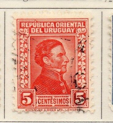 Uruguay 1928 Early Issue Fine Used 5c. 111129