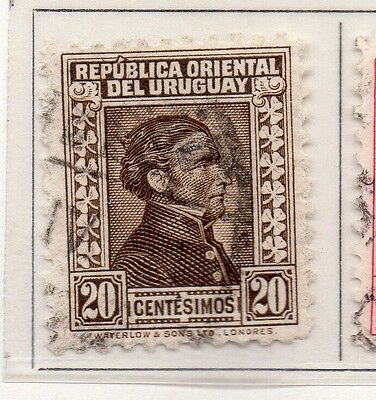 Uruguay 1928 Early Issue Fine Used 20c. 111133