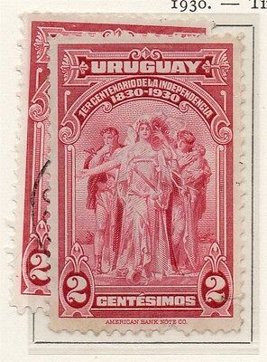 Uruguay 1930 Early Issue Fine Mint Hinged 2c. 111137