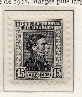 Uruguay 1933 Early Issue Fine Mint Hinged 15c. 111160