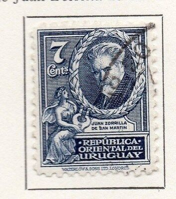 Uruguay 1933 Early Issue Fine Used 7c. 111170