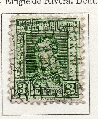 Uruguay 1934 Early Issue Fine Used 3c. 111172