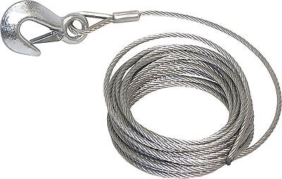 "3/16"" X 25´ Replacment Winch Cable w/hook"